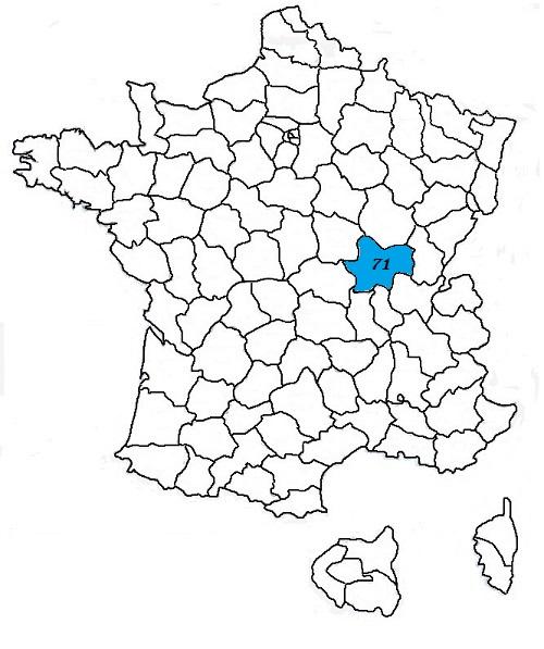 Code postal saone et loire 71 codes postaux des villes for Code postal saone