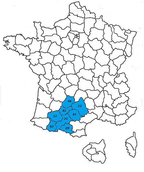 code postal midi pyrenees codes postaux des villes et villages de la region